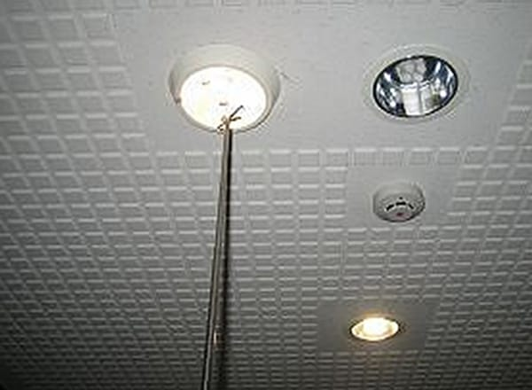 白熱灯型非常用照明<br>検査状況