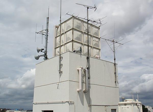 高架水槽 設置状況