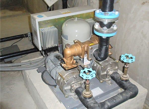 給水ポンプ 設置状況