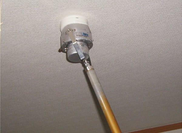 自動火災報知設備<br>熱感知器作動点検