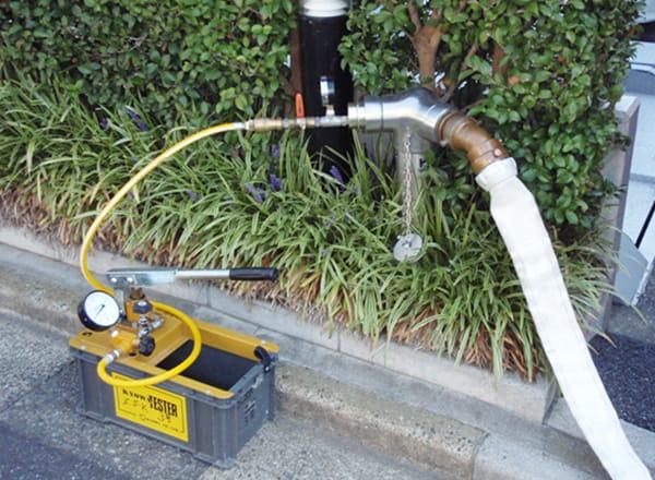 連結送水管<br>耐圧性能点検