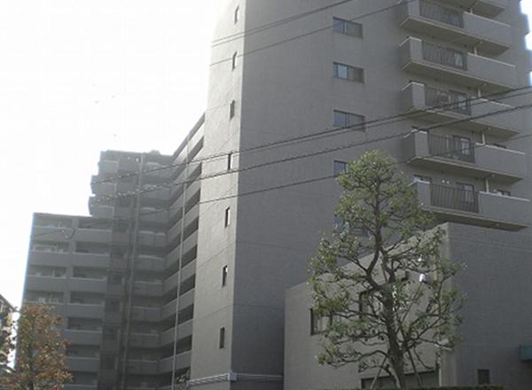 建築物外部の調査状況