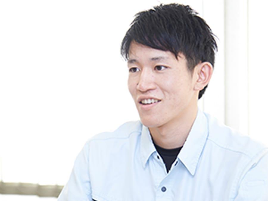 技術部 藤木 烈士緊急課 / 2016年入社